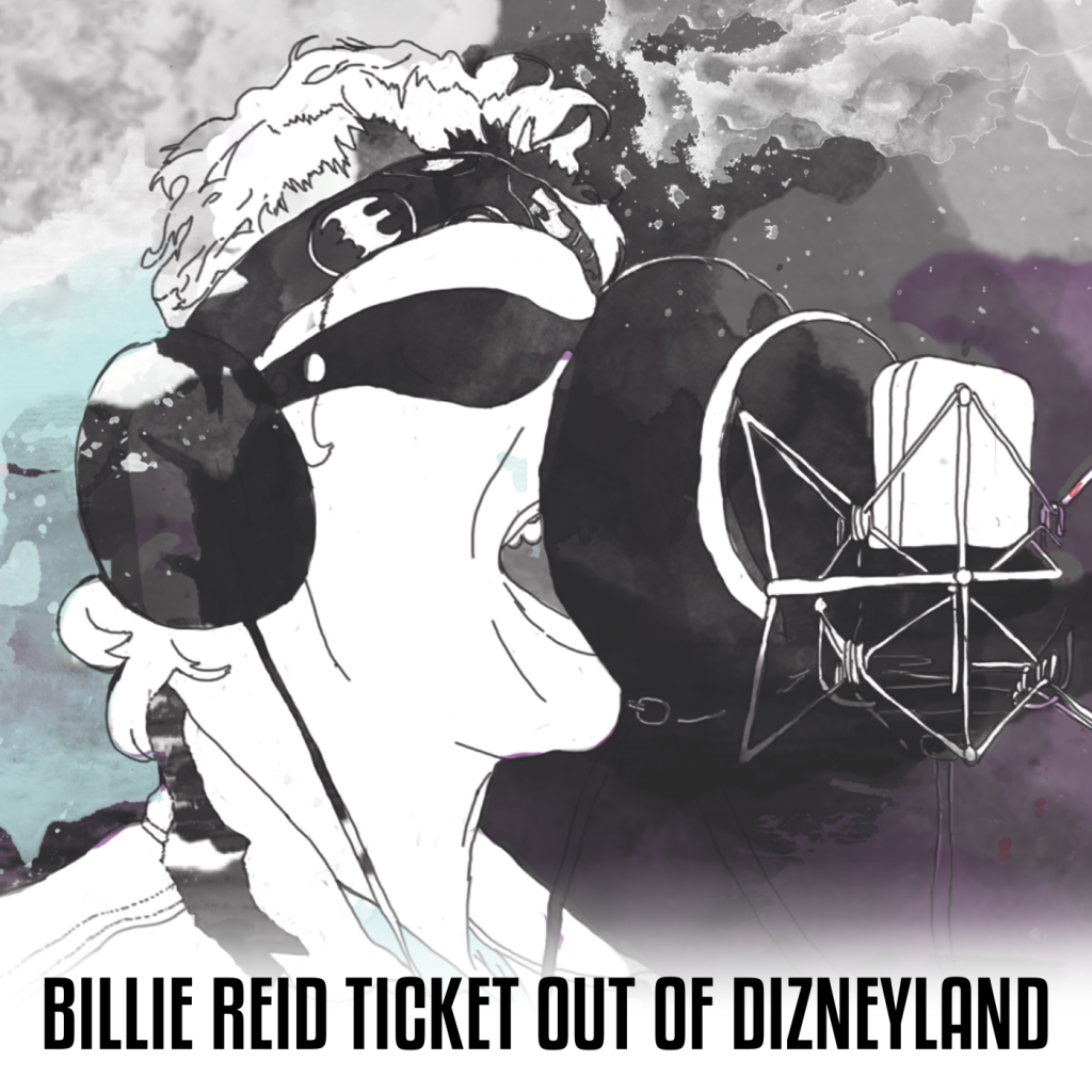 Ticket Out Of Dizneyland Cover-Art